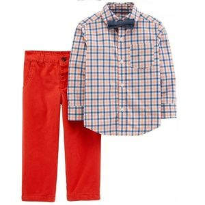 Carter's 3-pc Dressy Outfit With Bow Tie